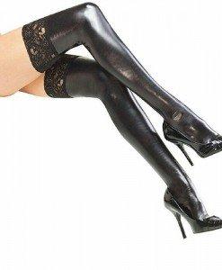 STK210-1 Ciorapi treisfert sexy accesorizati cu dantela - Ciorapi dama - Haine > Haine Femei > Ciorapi si manusi > Ciorapi dama