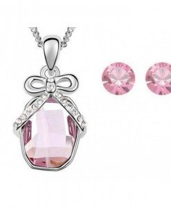 Set de bijuterii cu cristale Swarovski A special gift for you - Genti > Bijuterii -