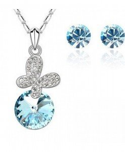 Set de bijuterii cu cristale Swarovski Sunny day - Genti > Bijuterii -
