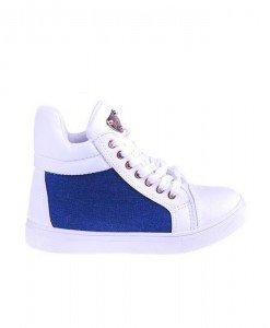 Sneakers Bravo white blue - Home > SPORT -