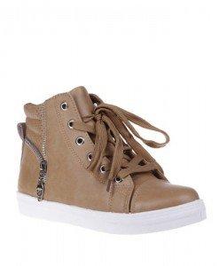 Sneakers Simina camel - Home > SPORT -