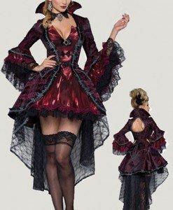 T415 Costum tematic Femeie-Vampir - Vrajitoare - Vampir - Haine > Haine Femei > Costume Tematice > Vrajitoare - Vampir