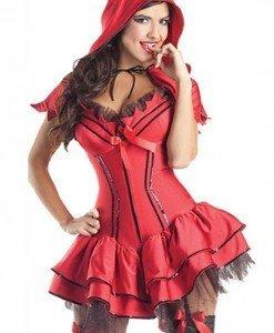 V419-3 Costum tematic Halloween - dracusor sexy - Inger & Dracusor - Haine > Haine Femei > Costume Tematice > Inger & Dracusor