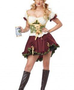 X214 Costum hangita Halloween - Chelnerita - Haine > Haine Femei > Costume Tematice > Chelnerita