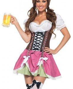 X415 Costum Halloween chelnerita Oktoberfest - Chelnerita - Haine > Haine Femei > Costume Tematice > Chelnerita