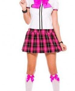 Y387 Costum tematic scolarita - Scolarita - Haine > Haine Femei > Costume Tematice > Scolarita