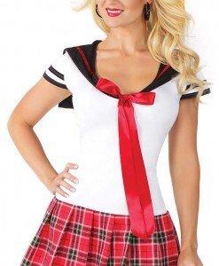 Y389 Costum tematic scolarita - Scolarita - Haine > Haine Femei > Costume Tematice > Scolarita
