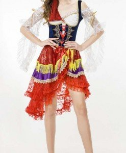 Y419 Costum tematic Gipsy - Ghicitoare - Altele - Haine > Haine Femei > Costume Tematice > Altele