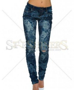 Blugi Flower Waves DarkBlue - Blugi -