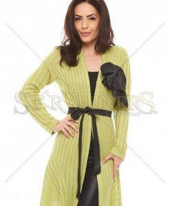 Cardigan Artista Happy Spirit Green - Geci -
