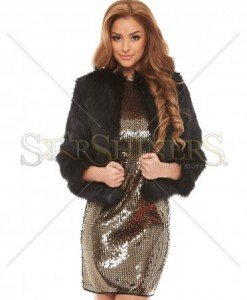 Jacheta Ana Radu Fashion Trend Black - Geci -