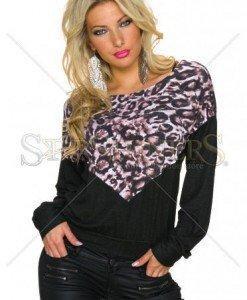 Pulover Instinctive Style Black - Pulovere -