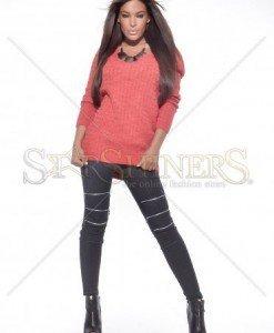 Pulover MissQ Girlish Side Orange - Pulovere -