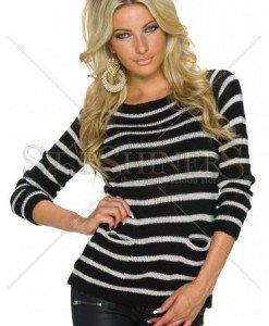 Pulover Spirited Wear Black - Pulovere -