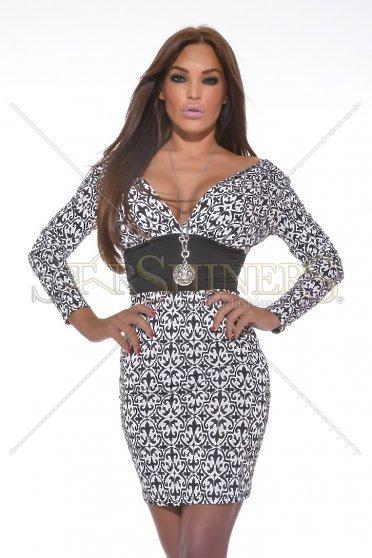 Rochie MissQ Modern Talking Black - Rochii -