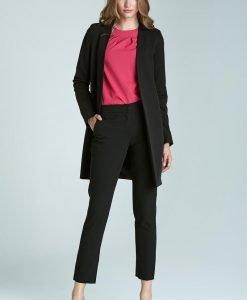 Black Super Sleek & Smart Tube Pants - Trousers -