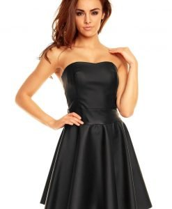Black Sweet Heart Flippy Bandeau Dress - Dresses -