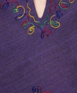 Bluza bumbac Purple - Colectii - Hippie & Etnic
