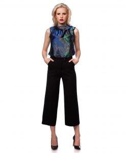 Bluza eleganta multicolora 1239 - BLUZE SI CAMASI - Bluze