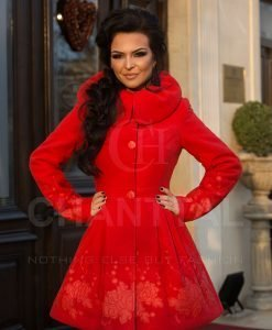 PARDESIU LITLLE RED RIDING HOOD - Haine Dama - Haine Dama > Paltoane