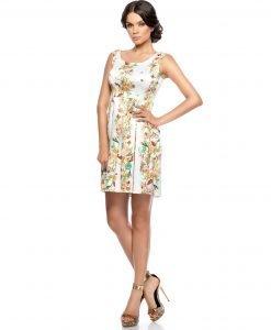 Rochie de zi cu imprimeu floral 9284 - ROCHII DE ZI - Pentru fiecare zi