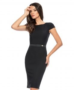 Rochie office chic neagra 9278-2 - ROCHII OFFICE - BUSINESS