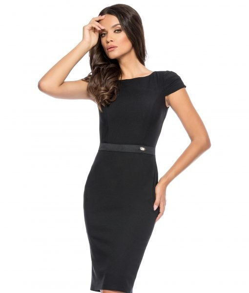 Rochie office chic neagra 9278-2 – ROCHII OFFICE – BUSINESS
