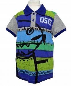 Tricou Desigual Polo Inca baieti 7-8 ani - Colectii - Desigual Kids