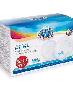 Absorbante sani anti-slip 50+10 buc - Lenjerie pentru femei - Accesorii