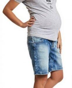 Blugi scurți Boyfriend - Produse > Haine pentru gravide > Pantaloni -