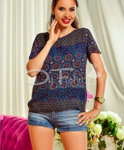 Bluza Dama cu Imprimeuri - Haine - Bluze/Camasi