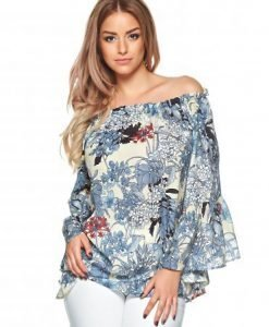 Bluza Daniella Cristea Silk Fairytale Blue - Bluze -