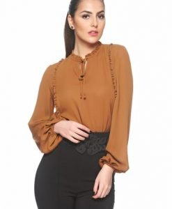 Bluza LaDonna Emotional Feelings Brown - Bluze -
