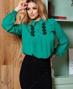 Bluza LaDonna Rustic Modernism Green - Bluze -