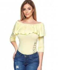 Bluza MissQ Hottie Yellow - Bluze -