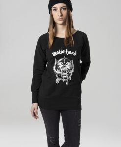 Bluza Motorhead Everything Louder pentru Femei negru Merchcode - Produse noi - Urban Classics>Produse noi