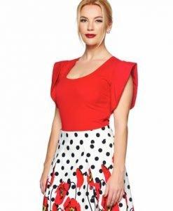 Bluza PrettyGirl Desire Look Red - Bluze -