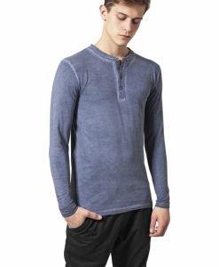 Bluza barbati aspect prespalat - Bluze cu maneca lunga - Urban Classics>Barbati>Bluze cu maneca lunga