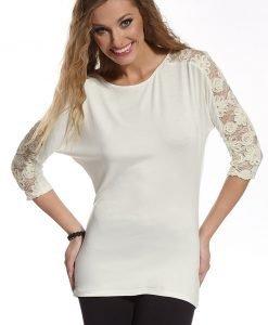 Bluza de dama cu dantela Tatiana - Haine si accesorii - Tricouri maiouri tunici si pulovere