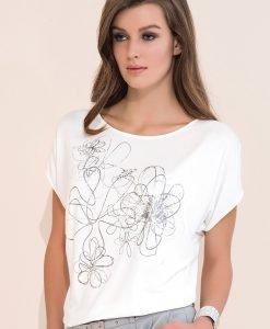 Bluza de lux Kore cu imprimeu - OUTLET - Haine dama - Outlet