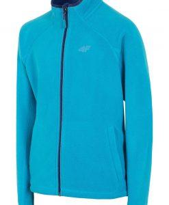 Bluza fleece Blue 4F pentru baietei - Haine si accesorii - Imbracaminte sport copii