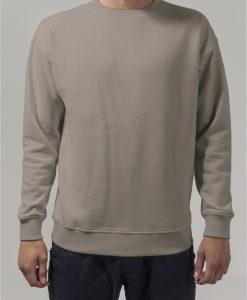 Bluza sport cu maneca lunga nisip Urban Classics - Barbati - Urban Classics>Colectie noua>Barbati