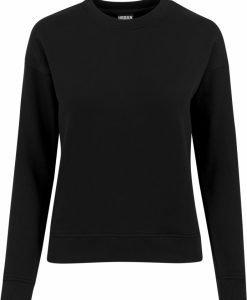 Bluza sport pentru Femei negru Urban Classics - Bluze urban - Urban Classics>Femei>Bluze urban
