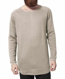 Bluze cu maneca lunga waffle nisip Urban Classics - Bluze cu maneca lunga - Urban Classics>Barbati>Bluze cu maneca lunga