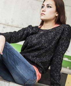 Bluze la moda urban splatter - Bluze urban - Urban Classics>Femei>Bluze urban