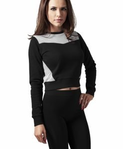 Bluze scurte cu maneca lunga terry - Bluze urban - Urban Classics>Femei>Bluze urban