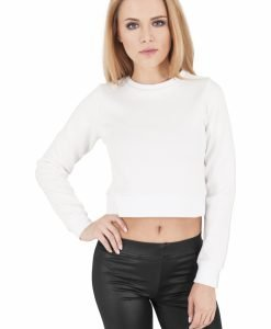 Bluze scurte scuba cu maneca lunga - Bluze urban - Urban Classics>Femei>Bluze urban