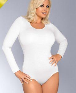 Body AgataM alb - Haine si accesorii - Body-uri