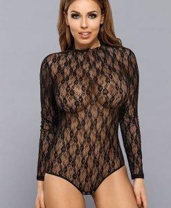 Body dantelat Angelina - Haine si accesorii - Body-uri