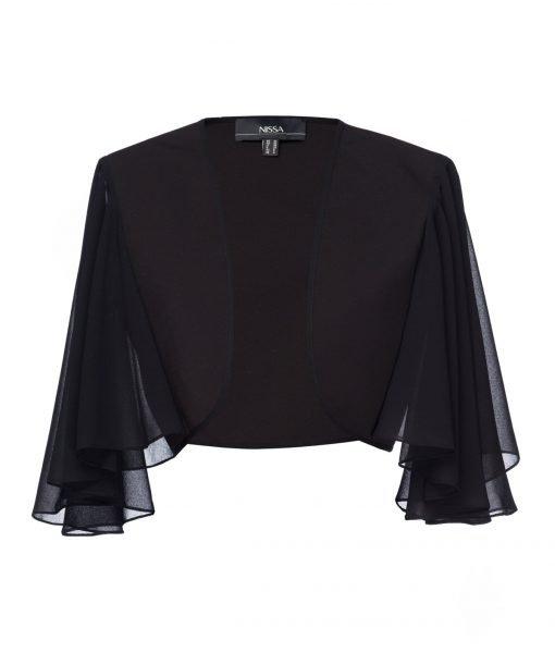 Bolero elegant Negru – Imbracaminte – Imbracaminte / Jachete si cardigane / Bolero
